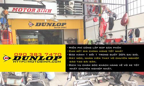 Môtô Bình đưa vỏ xe máy Dunlop đến gần với người tiêu dùng - 3