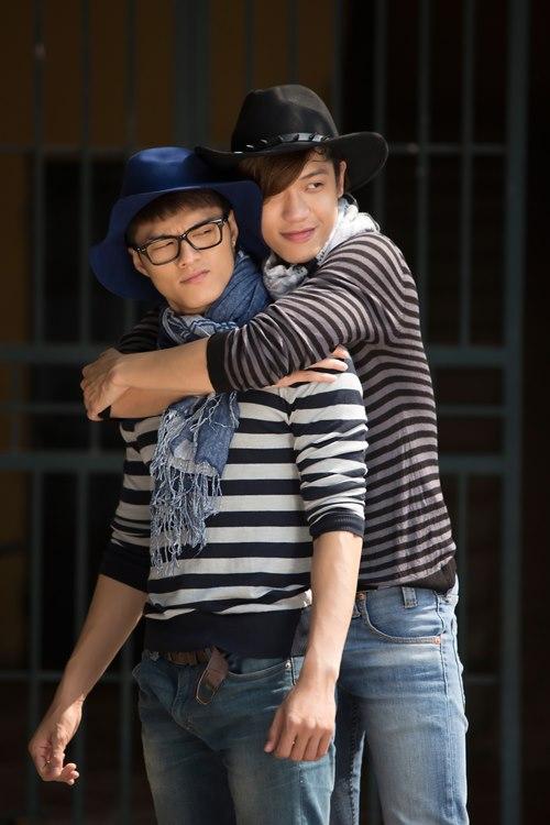 """Lâm Vinh Hải âu yếm """"người tình đồng giới"""" - 8"""