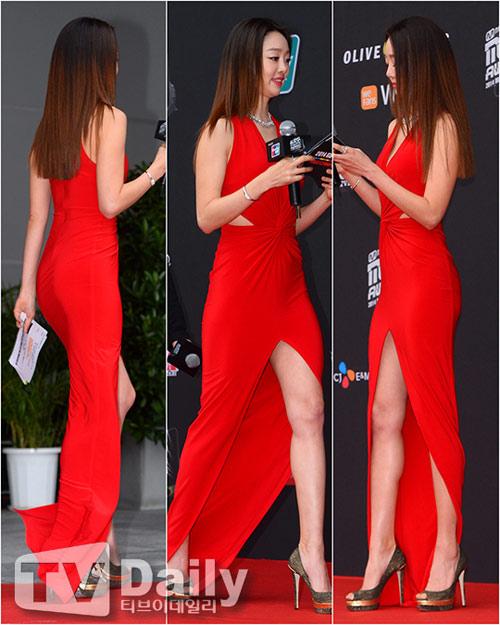 Mỹ nhân Hàn mặc váy 600 ngàn lên thảm đỏ danh giá - 14