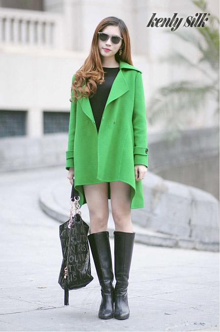 Những mẫu áo choàng tươi trẻ mùa thu đông 2014-2015 - 6