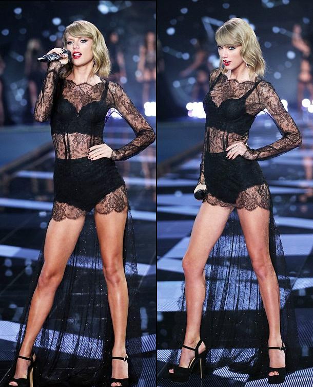 """Taylor Swift """"hớp hồn"""" khán giả cùng dàn thiên thần nội y - 7"""