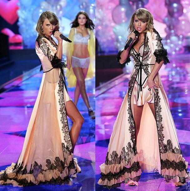 """Taylor Swift """"hớp hồn"""" khán giả cùng dàn thiên thần nội y - 13"""