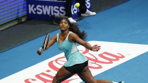 Serena - Wozniacki: Thoát hiểm phút cuối (Giải tennis Ngoại hạng) - 1