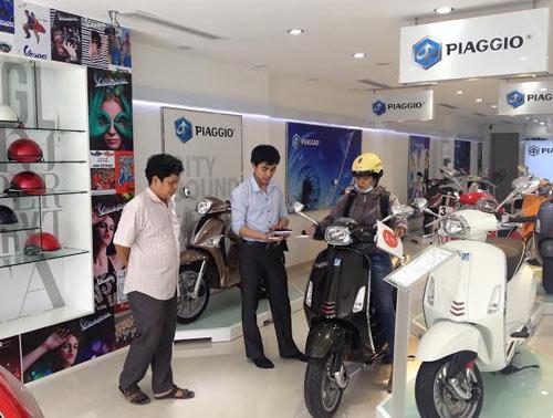 Ra mắt Piaggio Fly hoàn toàn mới và tiết kiệm nhiên liệu - 5