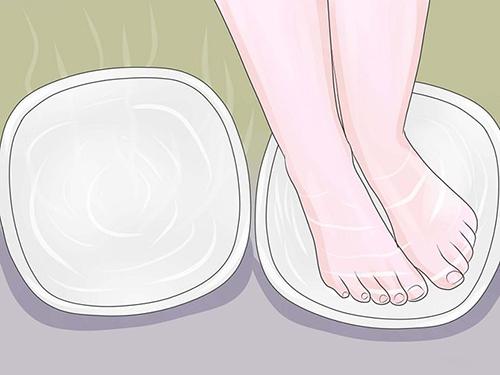 Chăm sóc bàn chân trong mùa đông thật dễ dàng - 2