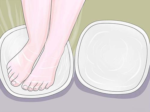 Chăm sóc bàn chân trong mùa đông thật dễ dàng - 3