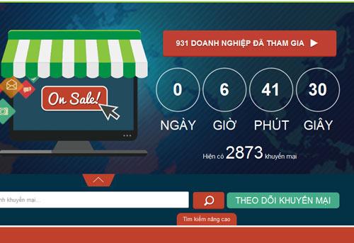Hình thức khuyến mãi mới trong Ngày mua sắm trực tuyến 2014 - 1