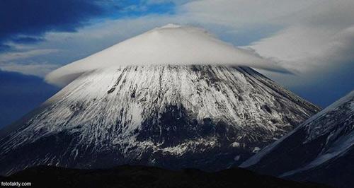 """Thú vị hình ảnh núi Phú Sĩ """"đội nón"""" - 7"""
