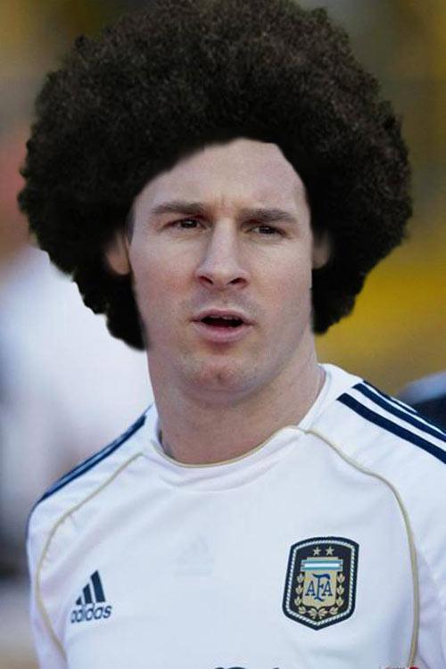 Ảnh chế: Khi các sao bóng đá đổi kiểu tóc cho nhau - 1