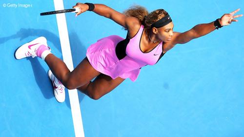 Serena dẫn đầu top 10 tay vợt nữ giành ace 2014 - 10