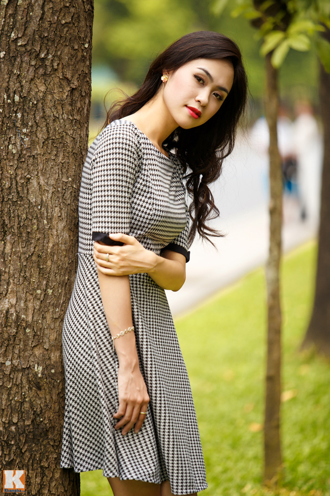 Cô từng được biết đến khi tham gia cuộc thi Miss Teen 2011