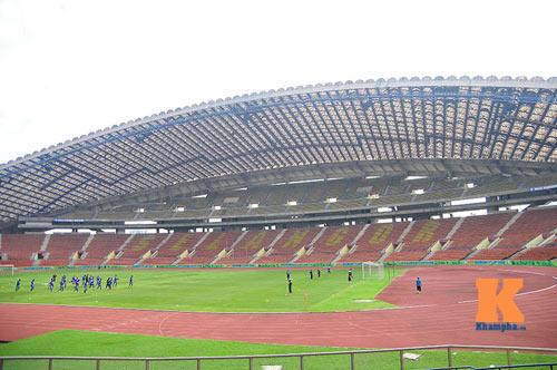 Tập kín ở sân Shah Alam, ĐTVN muốn lọt vào chung kết - 2