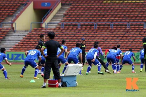 Tập kín ở sân Shah Alam, ĐTVN muốn lọt vào chung kết - 7