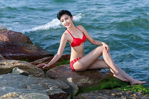 """Siêu mẫu Huyền My: """"Không sợ so sánh với Ngọc Hân!"""" - 1"""