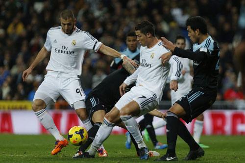 """Real - Celta Vigo: """"Cơn ác mộng"""" mang tên Ronaldo - 1"""