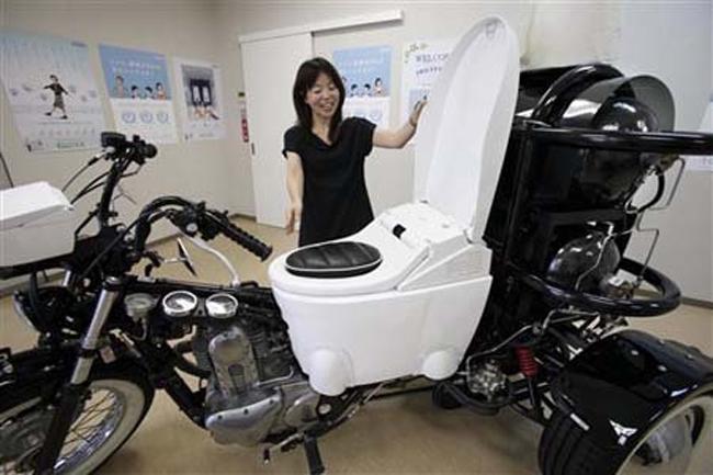 Chiếc xe máy với đầy đủ tiện nghi