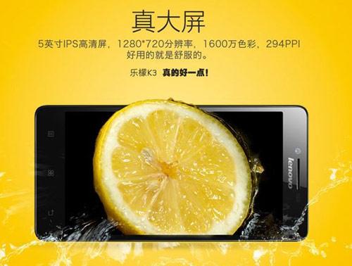 Lenovo K3: Smartphone giá rẻ, cấu hình tốt - 2
