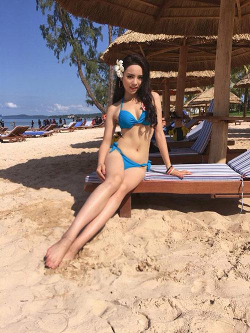 Hot girl giảm 15kg giành vương miện Hoa hậu Việt Nam - 8