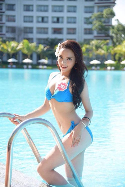 Hot girl giảm 15kg giành vương miện Hoa hậu Việt Nam - 5