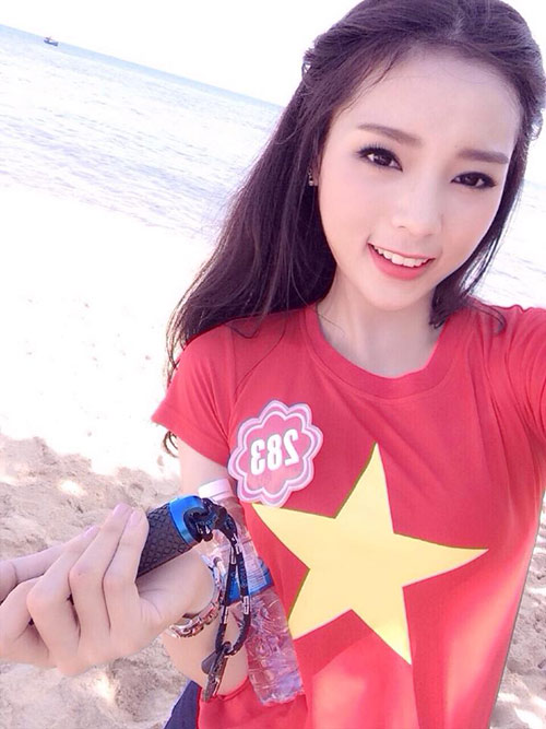 Hot girl giảm 15kg giành vương miện Hoa hậu Việt Nam - 10