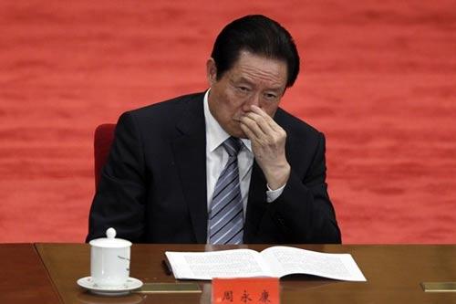 """Trung Quốc chính thức bắt """"hổ lớn"""" Chu Vĩnh Khang - 1"""