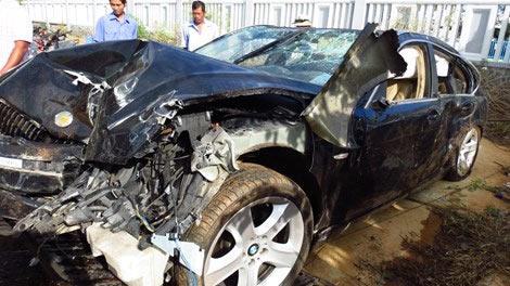 CSGT tông chết 2 dân phòng, 5 người khác trọng thương - 1