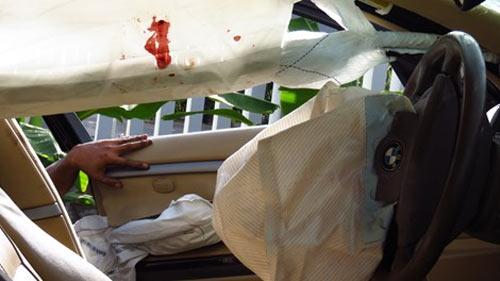 CSGT tông chết 2 dân phòng, 5 người khác trọng thương - 2