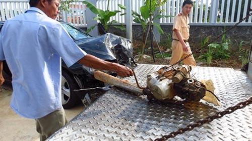 CSGT tông chết 2 dân phòng, 5 người khác trọng thương - 4
