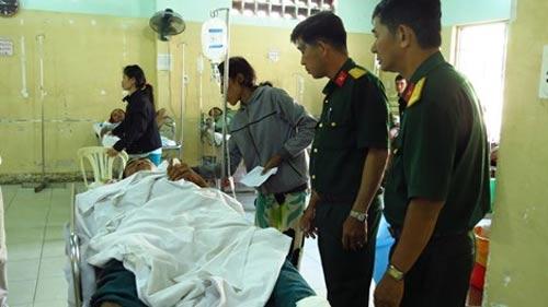 CSGT tông chết 2 dân phòng, 5 người khác trọng thương - 5