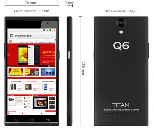 Nhanh tay mua Titan Q6 để nhận ưu đãi tới 2 triệu đồng - 5