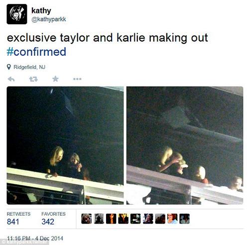 Taylor Swift cười xòa trước tin đồn đồng tính - 2