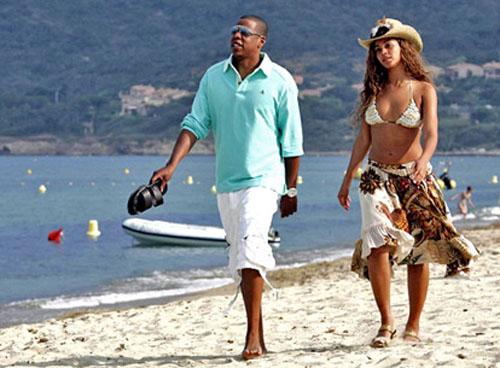 Những khoảnh khắc ngọt ngào của Beyonce và Jay Z - 11