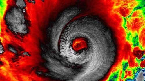 Bão Hagupit sắp vào Philippines, nửa triệu người sơ tán - 1