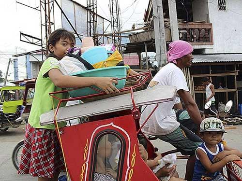 Bão Hagupit sắp vào Philippines, nửa triệu người sơ tán - 2