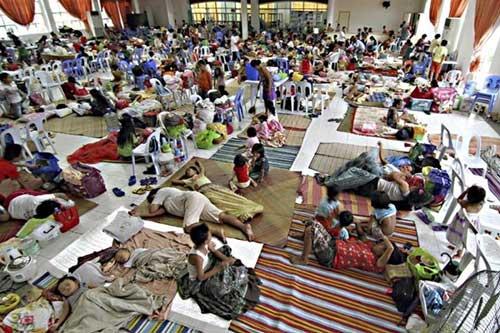 Bão Hagupit sắp vào Philippines, nửa triệu người sơ tán - 3