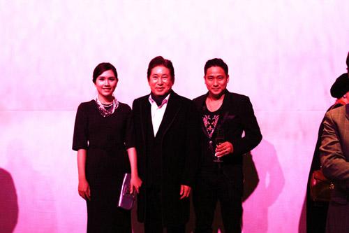 Vợ chồng Minh Tiệp làm khách VIP trên thảm đỏ Hàn Quốc - 3