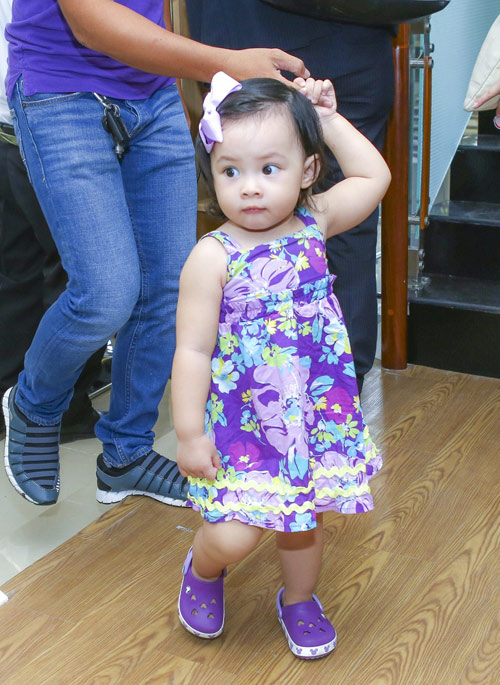 Lan Phương mê tít con gái của cựu thành viên MTV - 5