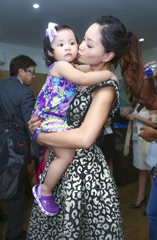Lan Phương mê tít con gái của cựu thành viên MTV - 3