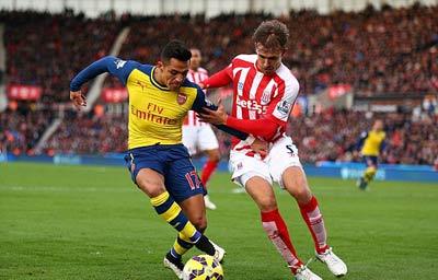 TRỰC TIẾP Stoke City - Arsenal: Nỗ lực bất thành (KT) - 4