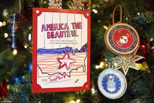 Nhà Trắng trang trí lộng lẫy mừng Giáng sinh 2014 - 3