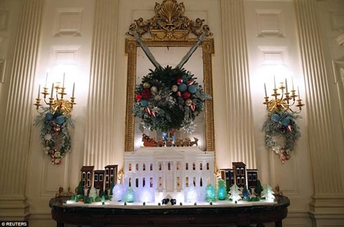 Nhà Trắng trang trí lộng lẫy mừng Giáng sinh 2014 - 7