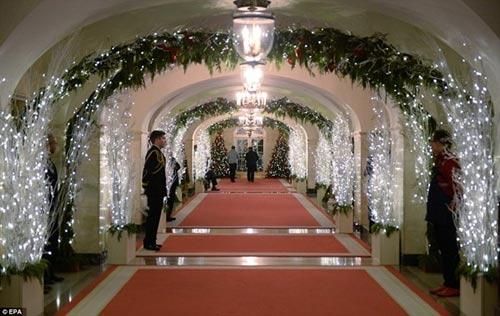 Nhà Trắng trang trí lộng lẫy mừng Giáng sinh 2014 - 8