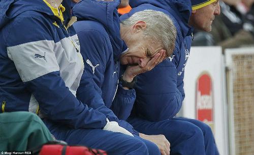 Arsenal thua trận: Khi Wenger thiếu bản lĩnh - 2