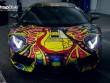 Lamborghini Aventador phủ màu độc, gây ảo giác