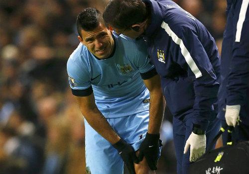 Aguero chấn thương: Man City cần vượt qua cơn bĩ cực - 1