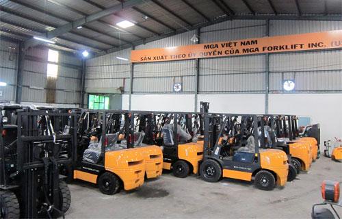 Xe nâng lắp ráp tại Việt Nam được nhiều khách hàng lựa chọn - 4