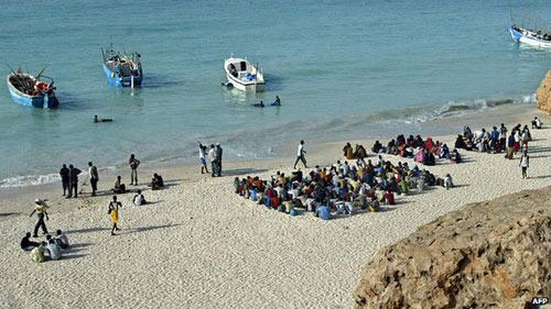 Chìm tàu chở người nhập cư ở Yemen, 70 người thiệt mạng - 1