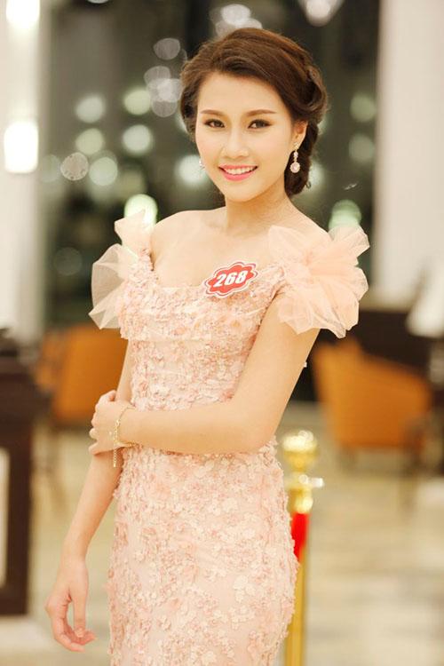 Thiếu nữ Hà Thành có làn da đẹp nhất HHVN 2014 - 10