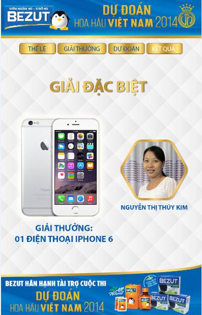Bình chọn Tân HHVN 2014: Chiếc iPhone 6 đã có chủ nhân - 1