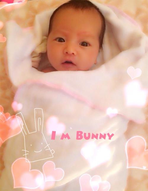 Hot girl Mai Thỏ đã sinh con gái đầu lòng